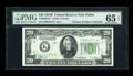 Small Size:Federal Reserve Notes, Fr. 2056-K* $20 1934B Federal Reserve Note. PMG Gem Uncirculated 65 EPQ.. ...