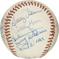 Autographs:Baseballs, St. Louis Cardinals Old Timers Multi-Signed Baseball. Whenconsidering the franchise histories of all of the professional b...