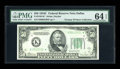 Small Size:Federal Reserve Notes, Fr. 2105-K* $50 1934C Federal Reserve Note. PMG Choice Uncirculated 64 EPQ.. ...