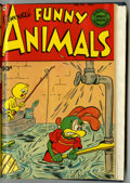 Golden Age (1938-1955):Funny Animal, Fawcett's Funny Animals #72 and 73 Bound Volume (Fawcett, 1951)....