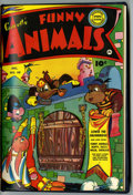 Golden Age (1938-1955):Funny Animal, Fawcett's Funny Animals #67 and 68 Bound Volume (Fawcett, 1950)....