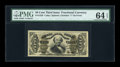 Fractional Currency:Third Issue, Fr. 1326 50c Third Issue Spinner PMG Choice Uncirculated 64 EPQ....