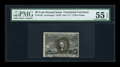 Fractional Currency:Second Issue, Fr. 1322 50c Second Issue PMG About Uncirculated 55 EPQ....