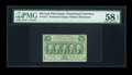 Fractional Currency:First Issue, Fr. 1311 50c First Issue PMG Choice About Unc 58 EPQ....