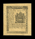 Colonial Notes:Delaware, Delaware May 1, 1777 4d Choice About New....