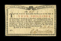Colonial Notes:New York, New York March 5 ,1776 (Water Works) 4s Very Choice New....