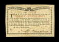 Colonial Notes:New York, New York March 5 ,1776 (Water Works) 8s New....