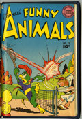 Golden Age (1938-1955):Funny Animal, Fawcett's Funny Animals #74 and 75 Bound Volume (Fawcett, 1952)....