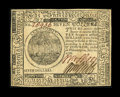 Colonial Notes:Continental Congress Issues, Continental Currency July 22, 1776 $7 Very Choice New....