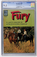 Silver Age (1956-1969):Adventure, Four Color #1296 Fury - File Copy (Dell, 1962) CGC NM- 9.2 Cream to off-white pages....