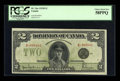 Canadian Currency: , DC-26a $2 1923B. ...