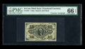 Fractional Currency:Third Issue, Fr. 1251 10c Third Issue Courtesy Autographed PMG Gem Uncirculated 66 EPQ....