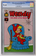 Silver Age (1956-1969):Humor, Wendy, the Good Little Witch #32 File Copy (Harvey, 1965) CGC NM 9.4 Cream to off-white pages....