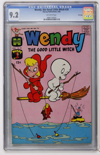 Wendy, the Good Little Witch #29 File Copy (Harvey, 1965) CGC NM- 9.2 Off-white pages