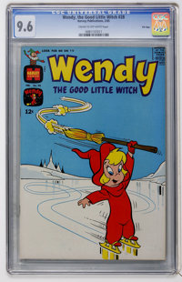 Wendy, the Good Little Witch #28 File Copy (Harvey, 1965) CGC NM+ 9.6 Cream to off-white pages