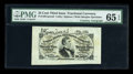 Fractional Currency:Third Issue, Fr. 1291SP 25c Third Issue Wide Margin Courtesy Autographed Set of Three.... (Total: 3 notes)