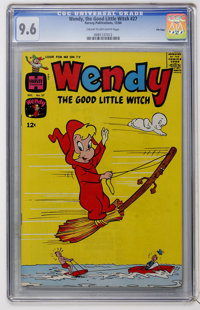 Wendy, the Good Little Witch #27 File Copy (Harvey, 1964) CGC NM+ 9.6 Cream to off-white pages