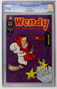 Wendy, the Good Little Witch #26 File Copy (Harvey, 1964) CGC NM+ 9.6 Off-white pages