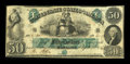 Confederate Notes:1861 Issues, T6 $50 1861. Cr 6 PF-1.. ...