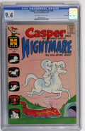 Bronze Age (1970-1979):Cartoon Character, Casper and Nightmare #28 File Copy (Harvey, 1970) CGC NM 9.4Off-white to white pages....