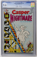 Bronze Age (1970-1979):Cartoon Character, Casper and Nightmare #29 File Copy (Harvey, 1970) CGC NM+ 9.6Off-white to white pages....