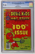 Modern Age (1980-Present):Humor, Devil Kids #100 File Copy (Harvey, 1980) CGC NM+ 9.6 Whitepages....