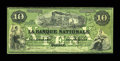 Canadian Currency: , Quebec, PQ- La Banque Nationale $10 April 28, 1860 Ch. # 510-10-04-12. ...