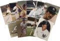 Autographs:Photos, New York Yankees Stars Signed Photographs Lot of 19. Nineteen starsfrom the storied past of the New York Yankees have chec...
