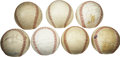 Autographs:Baseballs, 1946-80 Major League Team Signed Baseball Lot of 7. A magnificentportion of major league history is afforded here in the f...