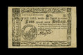 Colonial Notes:South Carolina, South Carolina December 23, 1776 $4 Choice About New....