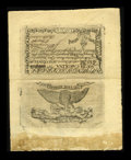 Colonial Notes:South Carolina, South Carolina February 8, 1779 $70 Complete Sheet of Two Choice About New....