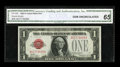 Small Size:Legal Tender Notes, Fr. 1500 $1 1928 Legal Tender Note. CGA Gem Uncirculated 65.. ...