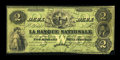 Canadian Currency: , Quebec, PQ- La Banque Nationale $2 April 28, 1860 Ch. #510-10-02-04.. ...