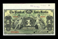 Canadian Currency: , Kingston, Jamaica- The Bank of Nova Scotia £1 January 2, 1919 Ch. # 550-38-02-04S Specimen. ...