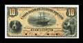 Canadian Currency: , Saint Johns, NF- Union Bank of Newfoundland $10 May 1, 1889 Ch. #750-16-06P Proof. ...