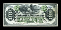 Canadian Currency: , Quebec, PQ- La Banque Nationale $100 October 2, 1871 Ch. #510-12-12. ...