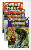 Bronze Age (1970-1979):Horror, Swamp Thing #1-10 Group (DC, 1972-74) Condition: Average VF-....(Total: 10 Comic Books)