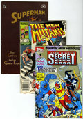 Modern Age (1980-Present):Miscellaneous, Miscellaneous Modern Age Comics Box Lot (Various publishers, 1980s-'90s) Condition: Average NM-....