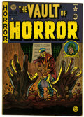 Golden Age (1938-1955):Horror, Vault of Horror #15 (EC, 1950) Condition: VG....