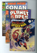Magazines:Superhero, Marvel Magazines Group (Marvel, 1968-74) Condition: Average FN+....(Total: 3 Comic Books)
