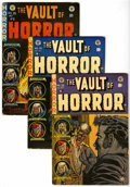 Golden Age (1938-1955):Horror, Vault of Horror Group (EC, 1953-54) Condition: Average VG....(Total: 4 Comic Books)