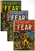 Golden Age (1938-1955):Horror, Haunt of Fear Group (EC, 1951-53) Condition: Average VG.... (Total:5 Comic Books)