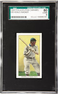 Baseball Cards:Singles (Pre-1930), 1909 Philadelphia Caramel E95 Honus Wagner SGC 80 EX/NM 6. Justtwenty-five cards in this tough candy set, but the issue is...