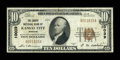 National Bank Notes:Missouri, Kansas City, MO - $10 1929 Ty. 1 The Commonwealth NB Ch. # 10039....