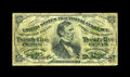 Fractional Currency:Third Issue, Fr. 1294 25c Third Issue Entire Back Inverted Fine....