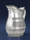 Silver & Vertu:Hollowware, A RUSSIAN SILVER PITCHER. Unidentified maker, Moscow, Russia, 1893. Marks: AC over 1893, 84, (Moscow), effaced mark ...