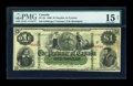 Canadian Currency: , PC-2b 1866 $1. ...