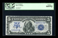 Large Size:Silver Certificates, Fr. 272 $5 1899 Silver Certificate PCGS Gem New 66PPQ....