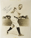 Autographs:Photos, 1930's Babe Ruth Signed Photograph....