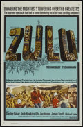 "Movie Posters:War, Zulu (Paramount, 1964). One Sheet (27"" X 41""). War...."